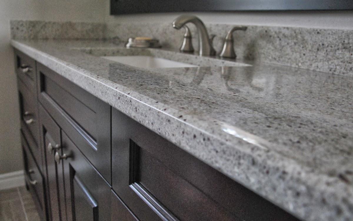 Kashmir White Granite Countertops For Bathroom